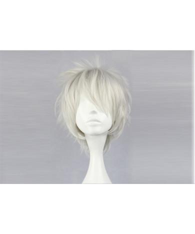 Naruto Senju Tobirama Short Gray Cosplay Wig