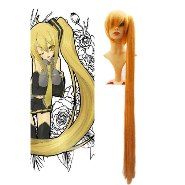 Vocaloid Akita Neru 120cm Cosplay Wig