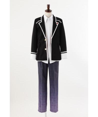 Diabolik Lovers Sakamaki Kanato Men's Uniform Cosplay Outfit Costume
