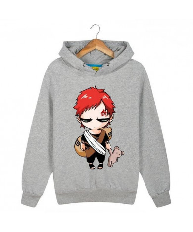 Custom Naruto Gaara Naruto Clan Grey 3D Print Sweatshirt Hoodies