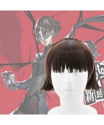 Persona 5 Makoto Niijima Cosplay Wig