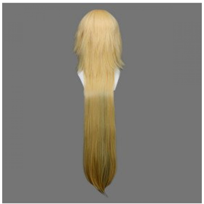 Bleach Tear Halibel Yellow Long Cosplay Wig
