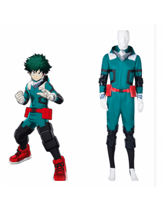My Hero Academia Izuku Midoriya Deku Battle Cosplay Costume