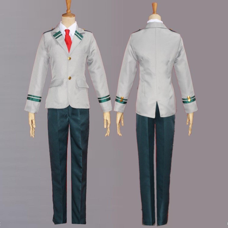 My Hero Academia Feku Izuku Midoriya Men's School Uniform Cosplay Costume