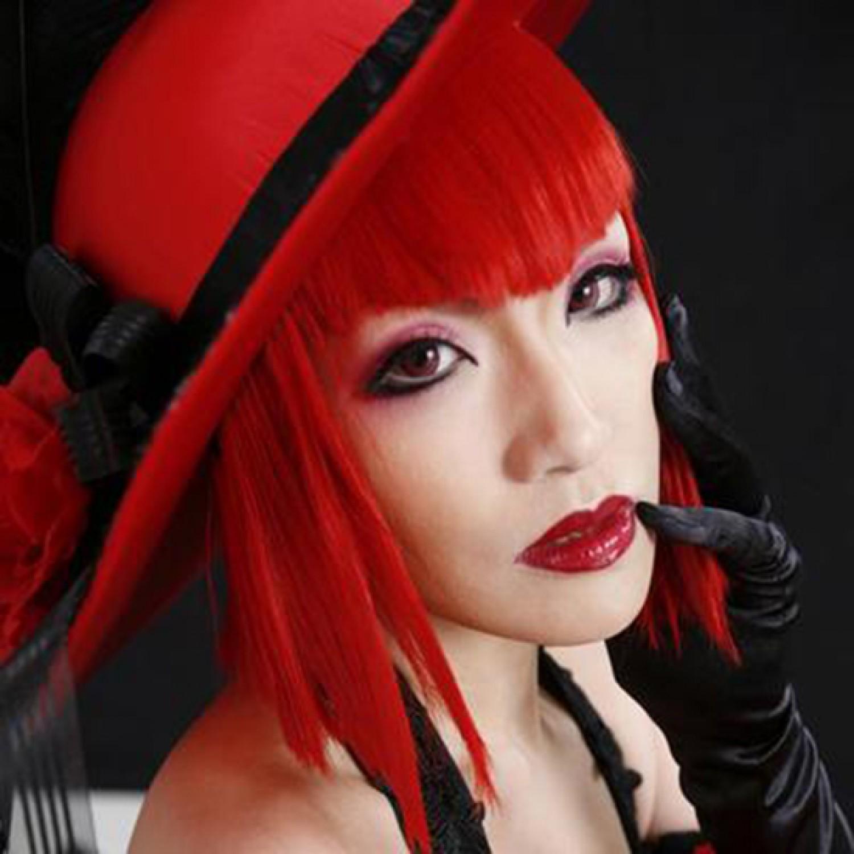 Black Butler Angelina Dares Red Cosplay Wig
