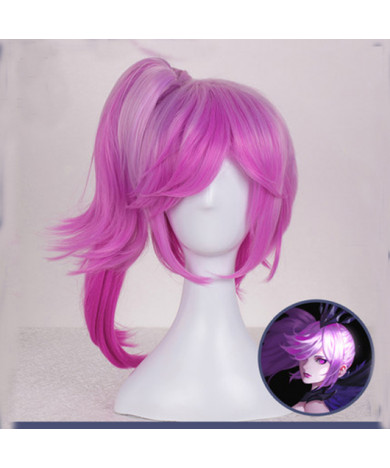 League of Legends C9 Sneaky Lux Cosplay Wig