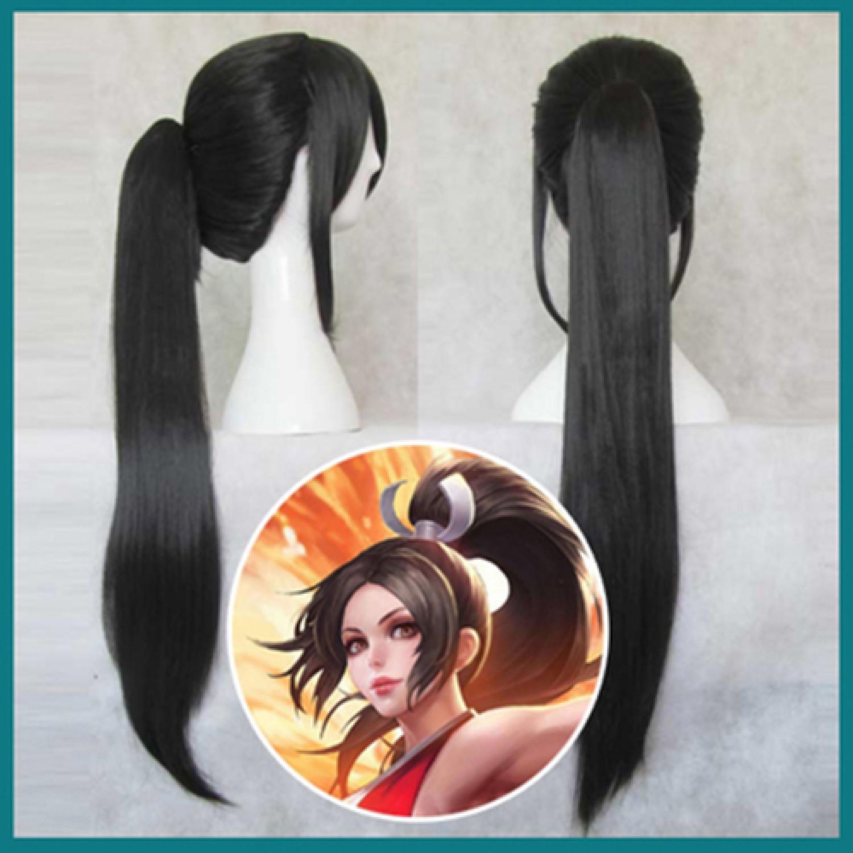 League of Legends Mai Shiranui Cosplay Wig