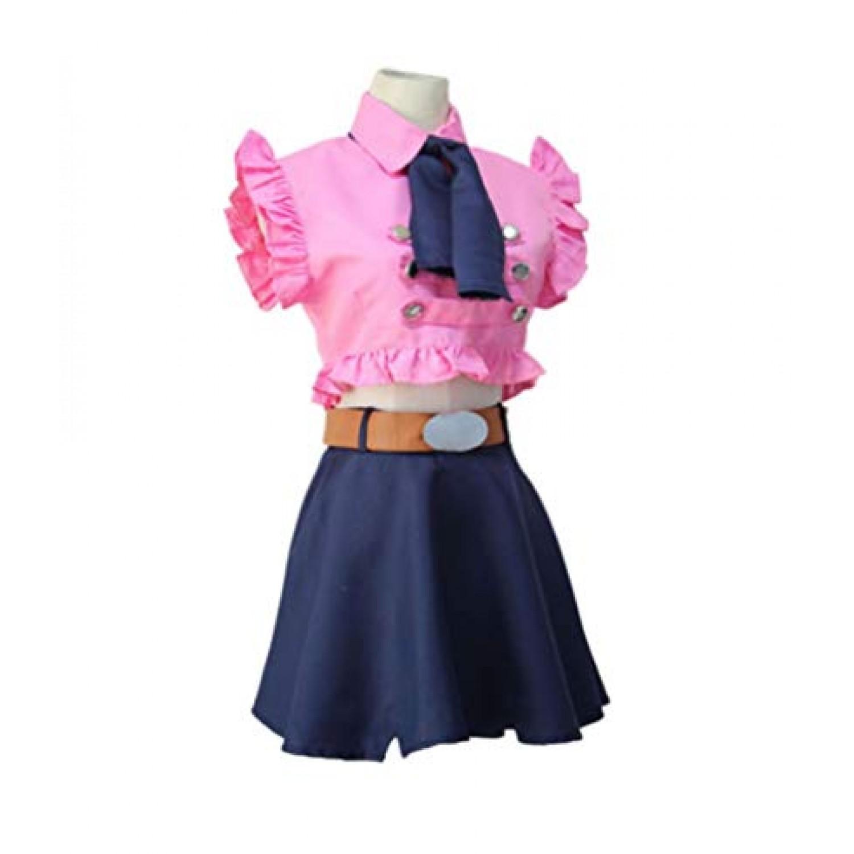 The Seven Deadly Sins Elizabeth Liones Lolita Dress Cosplay Costume