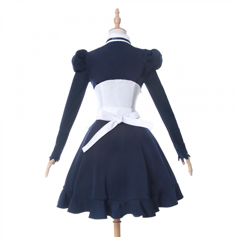 The Seven Deadly Sins Elizabeth Liones Lolita Maid Dress Cosplay Costumes