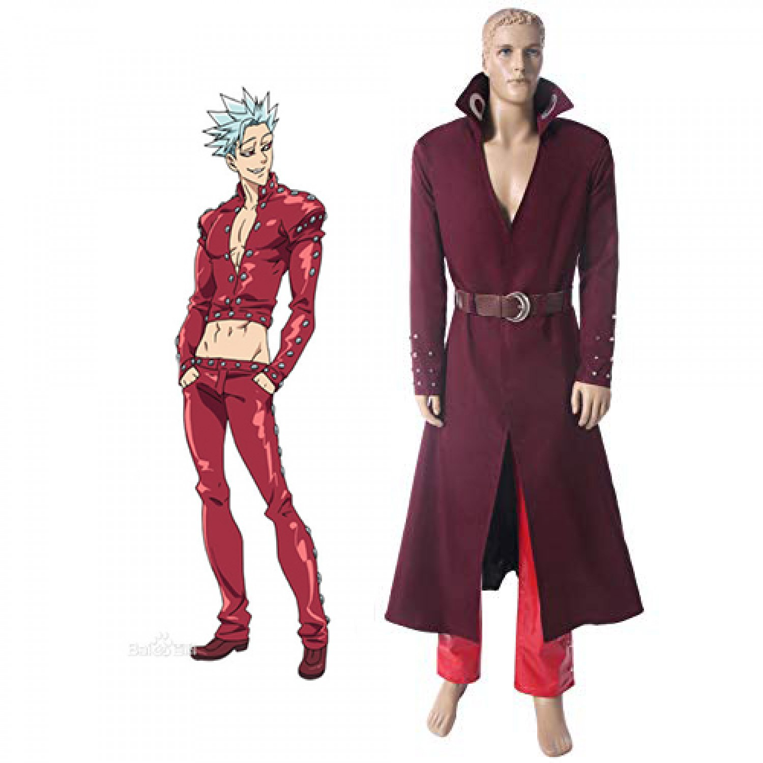 Seven Deadly Sins Season 2 Fox's Sin Of Greed Ban Cosplay Costume