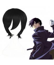 Ao No Exorcist Okumura Rin Black Short Cosplay Wig
