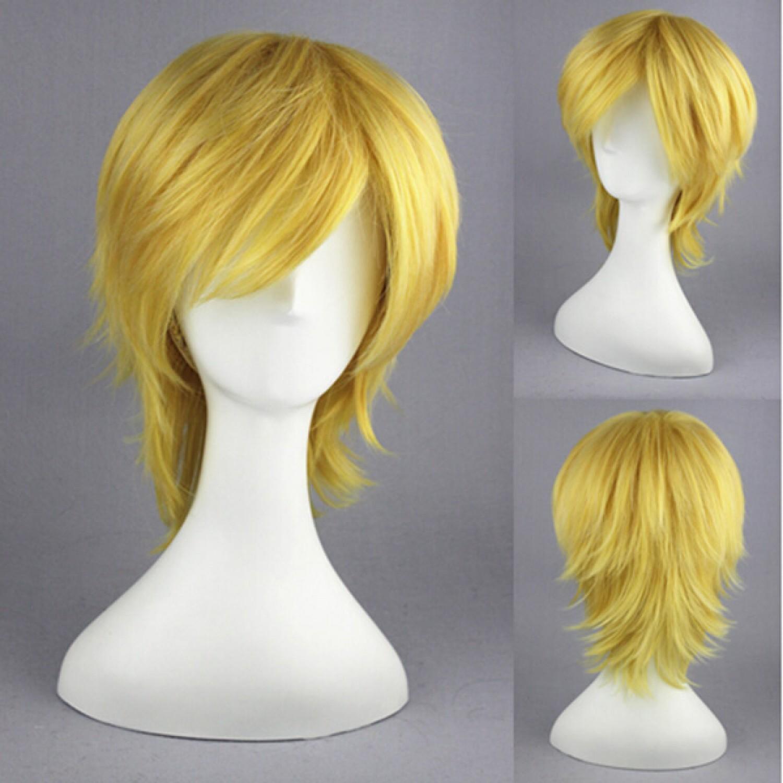 Ao no Exorcist Shima Kinzou Short Cosplay Wig