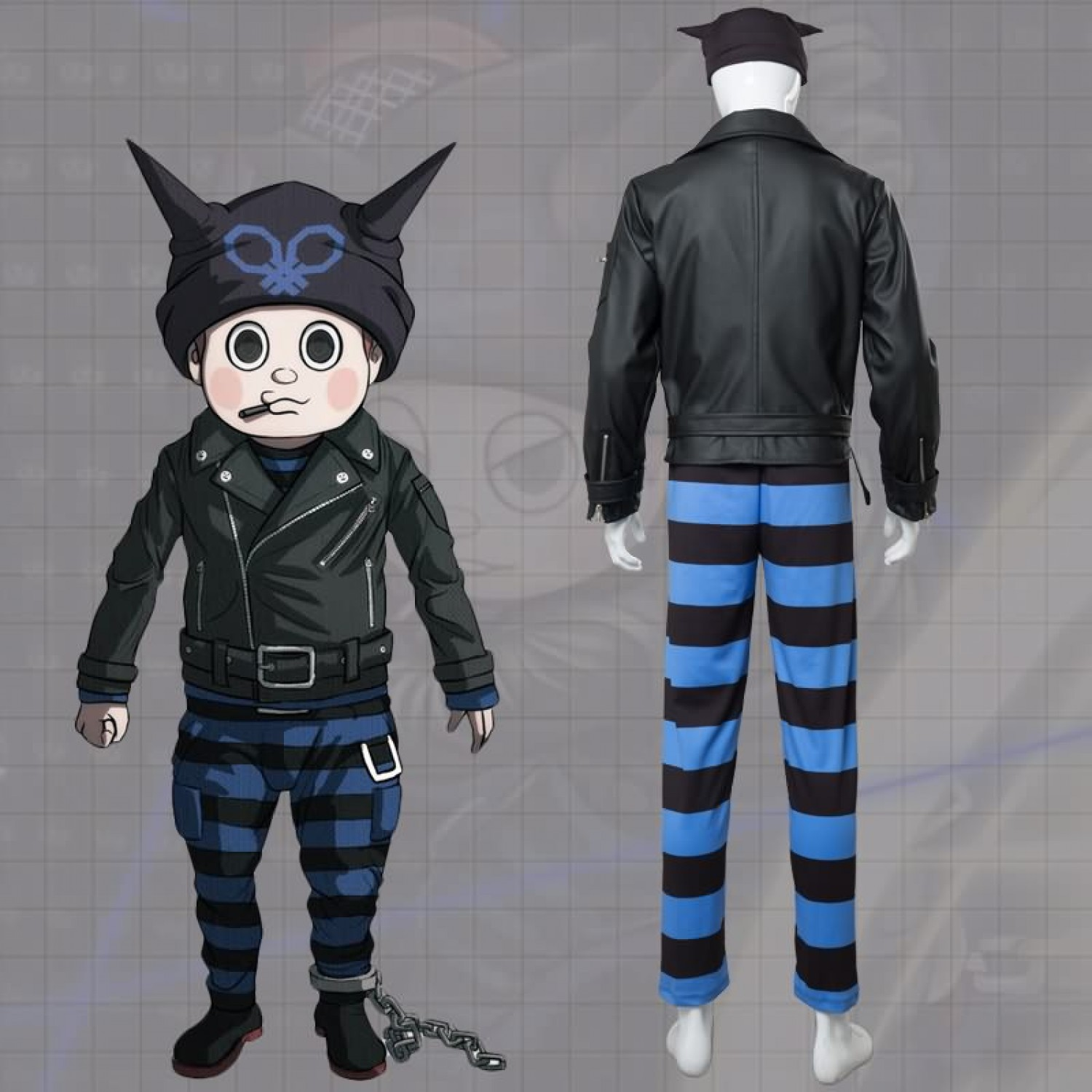 Danganronpa V3 Killing Harmony Ryoma Hoshi Cosplay Costume Free Shipping 99 99 This also extends to the monokubs, who are voiced by sean chiplock (monotaro, previously voiced kiyotaka tenko's tendency to make weird faces is because her voice actress also voiced applejack, who has the same. killing harmony ryoma hoshi cosplay