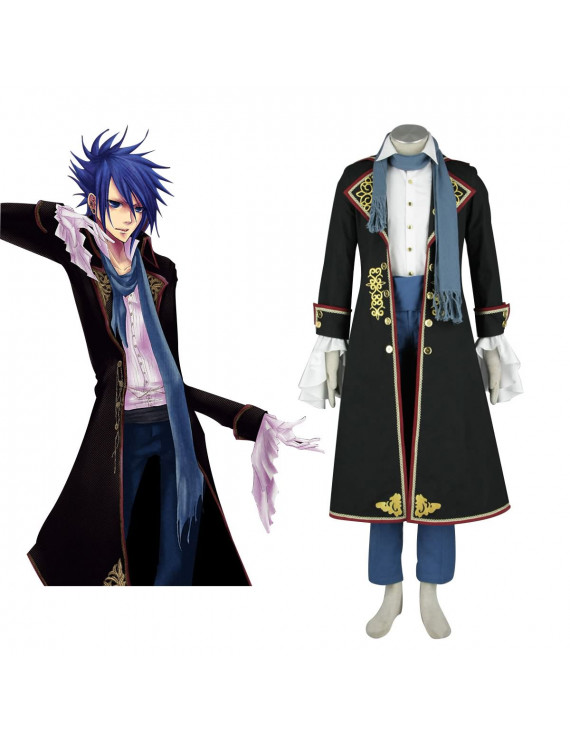 Vocaloid Kaito 2ND Court Gothic Cosplay Costumes