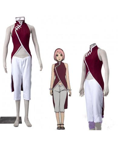 Boruto Naruto Haruno Sakura Cosplay Costume