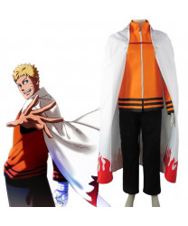 Boruto The last-Uzumaki Naruto Seventh Hokage Anime Cosplay Costume