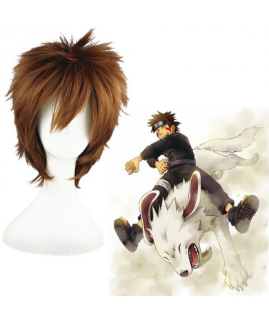 Naruto Inuzuka Kiba Anime Cosplay Wig