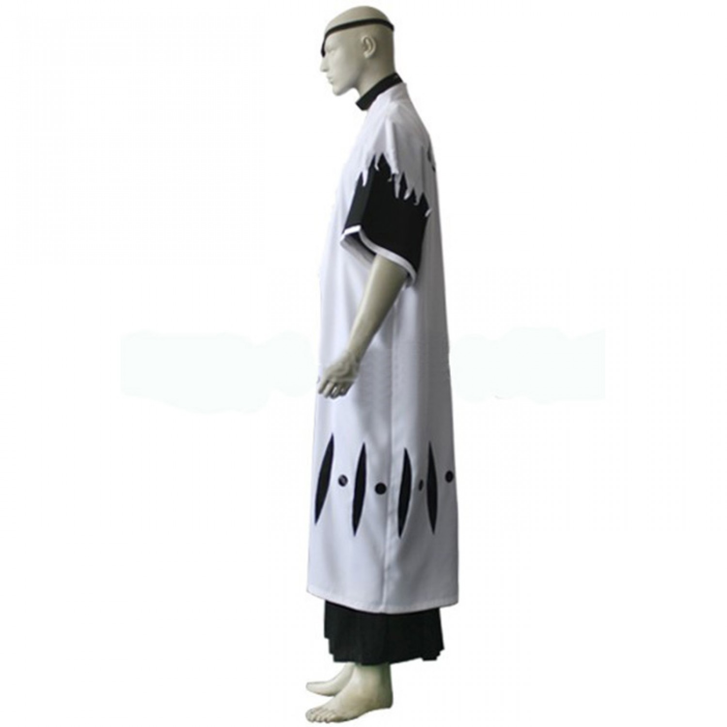 Bleach 11th Division Captain Zaraki Kenpachi Cosplay Outfits