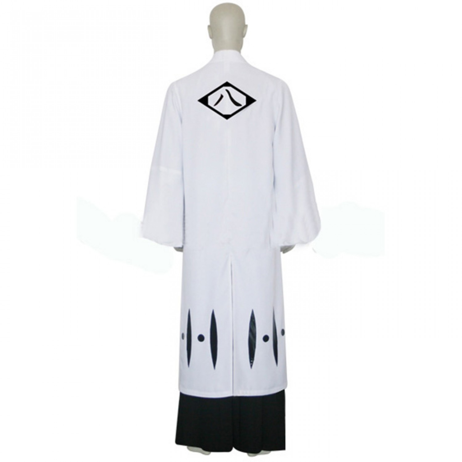 Bleach 8th Division Captain Kyouraku Shunsui Cosplay Outfits