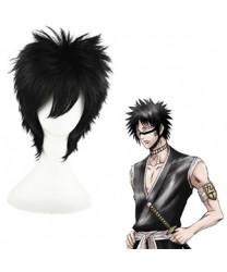 Bleach Hisagi Shuuhei Black Short Cosplay Wig