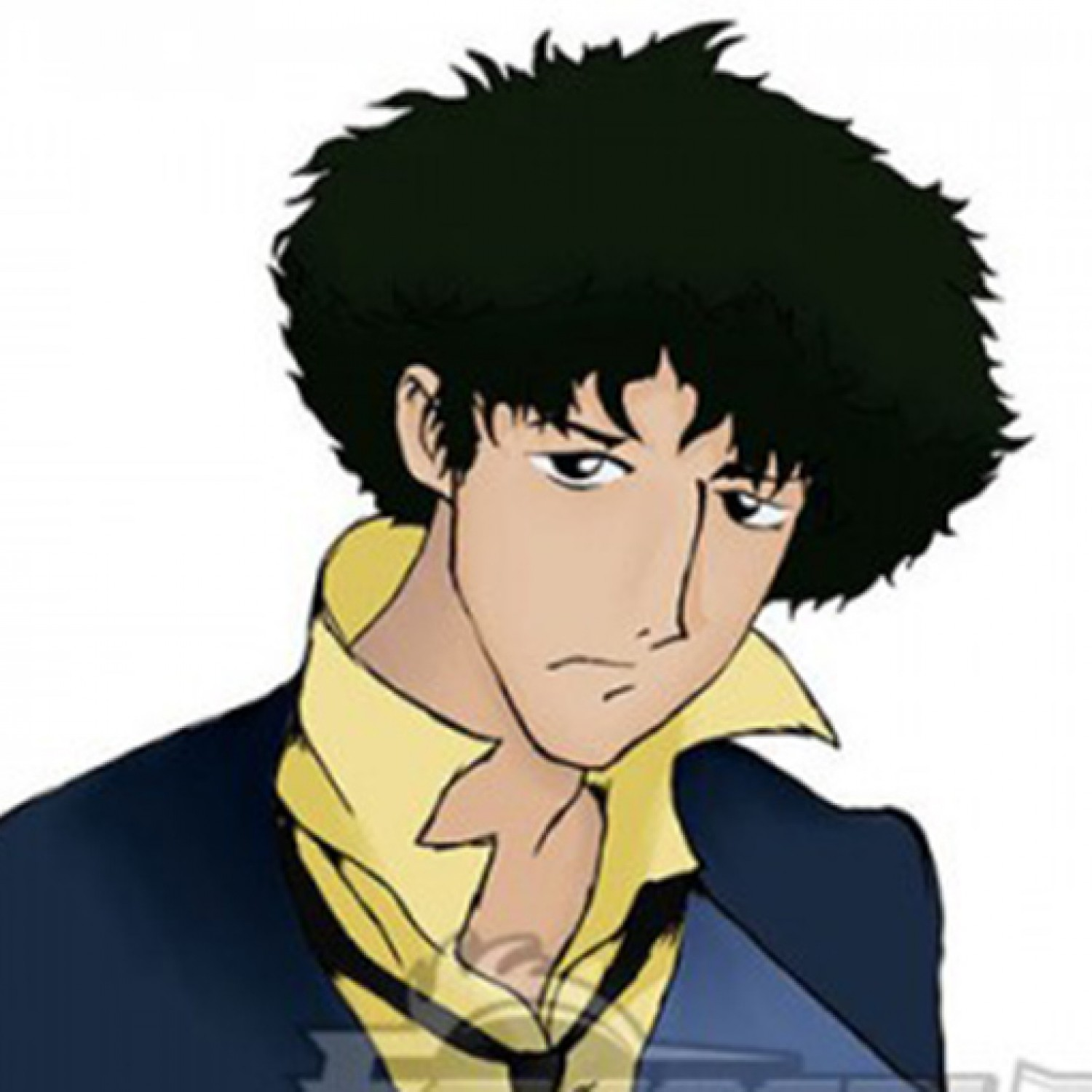 Cowboy Bebop Spike Spiegel Black Short Cosplay Wig