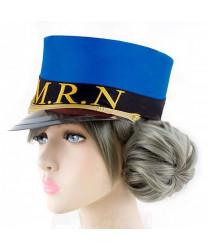 Persona 5 Caroline Golden Grey Cosplay Wig 30 cm