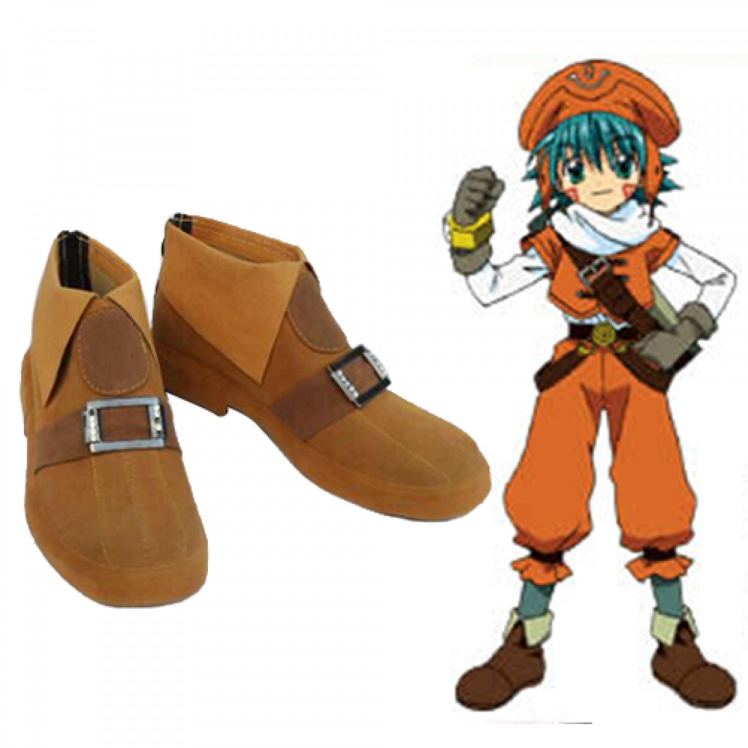 .hack Link Kite PU Cosplay Shoes