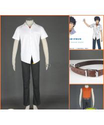 A Certain Magical Index Kamijou Touma 1ST Cosplay Costumes