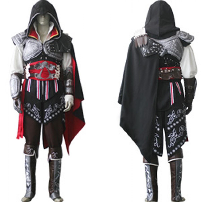 Assassin's Creed Ezio Auditore Da Firenze Cosplay Costumes 01