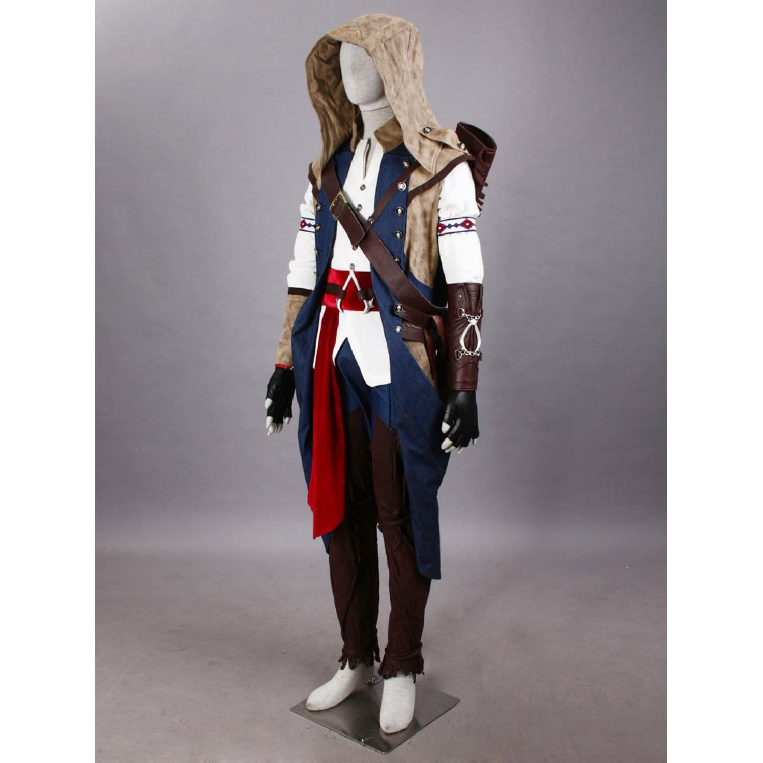 Assassin S Creed Connor Cosplay Costume Free Shipping 159 99