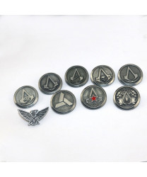 Assassin's Creed Badge Cosplay Accessories