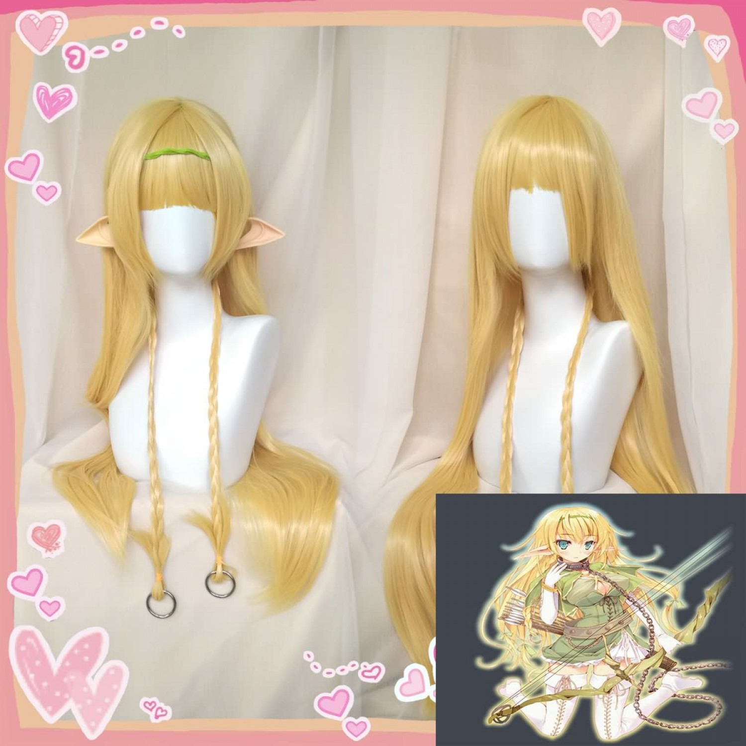 How NOT to Summon a Demon Lord Shera L Greenwood Cosplay Wig