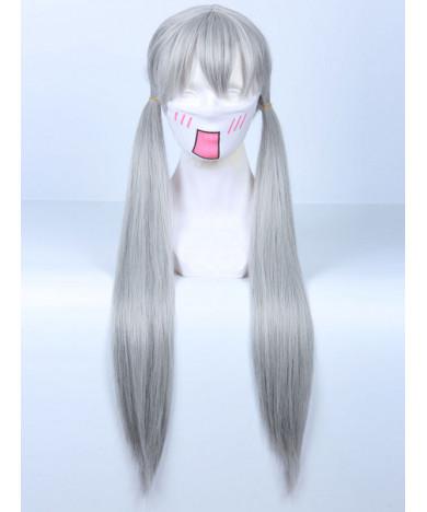 Zootopia Judy Hopps Light Gray Long Straight Cosplay Wig