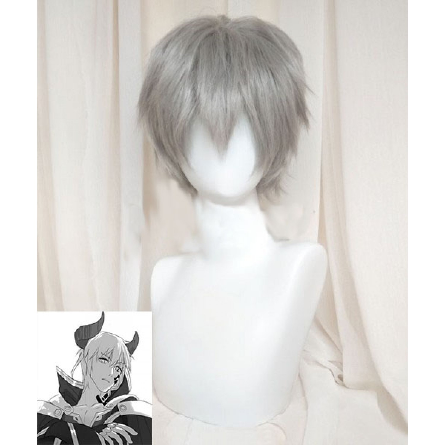 How NOT to Summon a Demon Lord Takuma Sakamoto Diablo Cosplay Wig