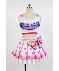 Love Live ! Yazawa Nico School Idol Cheerleading Cosplay Costumes