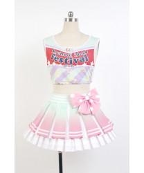 Love Live! Kotori Minami School Idol Cheerleading Cosplay Costume