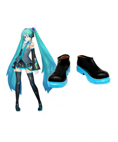 Vocaloid Hatsune Miku Cosplay Boots Cosplay Shoes