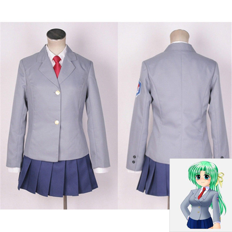When They Cry Shion Sonozaki Student Uniforms Cosplay Costumes
