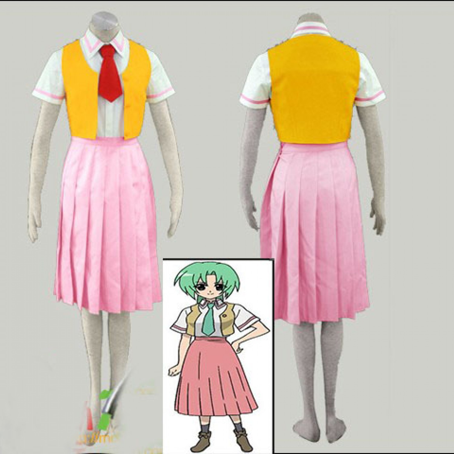 When They Cry Sonozaki Mion Cosplay Costumes