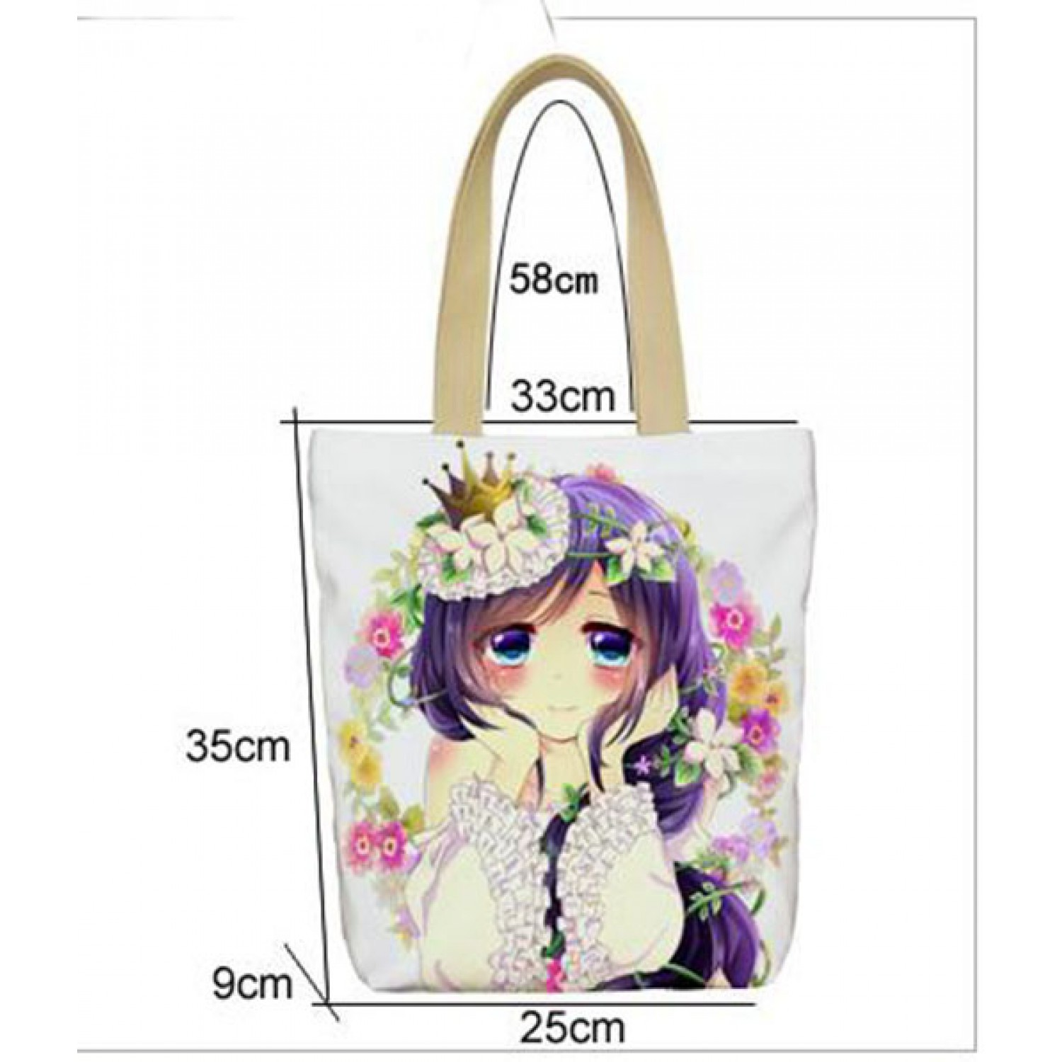 When They Cry Furude Rika Anime Shoulder Bag