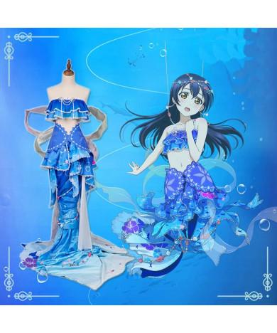 Lovelive! Mermaid Awakening Garden Tian Hai Cosplay Costume