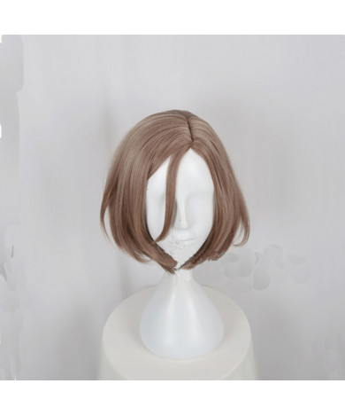 Act! Addict! Actors! A3! Autumn Troupe Settsu Banri Brown Short Bob Cosplay Wig