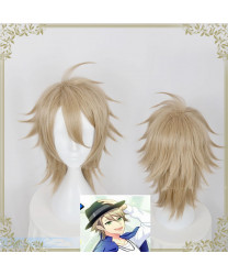 Act! Addict! Actors! A3! Summer Troupe Miyoshi Kazunari Short Cosplay Wig