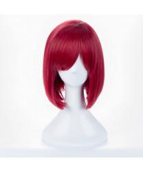 Akagami no Shirayukihime Shirayuki Short Red Bob Cosplay Wig