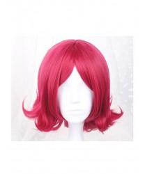 Arena of Valor 5v5 Arena Game Daji Pink Red Short Cosplay Wig