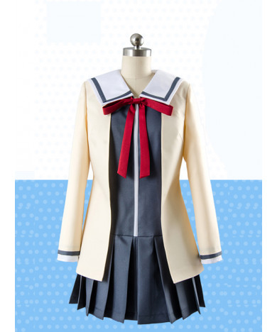 Aho Girl Hanabatake Yoshiko Student Uniform Cosplay Ciostume