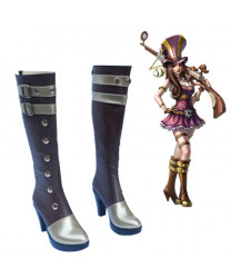 League of Legends Caitlyn the Sheriff of Piltover c9 Sneaky Cosplay Shoes
