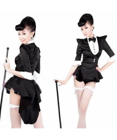 Adult Ladies Tuxedo Magician Cosplay Halloween Costumes