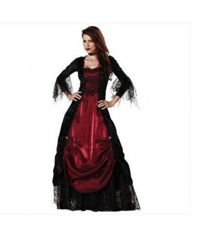 Adult Gothic Vampire Cosplay Halloween Costume