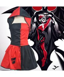 Batman and Harley Quinn Skirt Halloween Cosplay Costumes